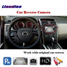 Liandlee For Mazda CX-9 CX9 2007~2014 / Auto Back Up Camera Rearview Reverse Parking Camera Work with Car Factory Screen