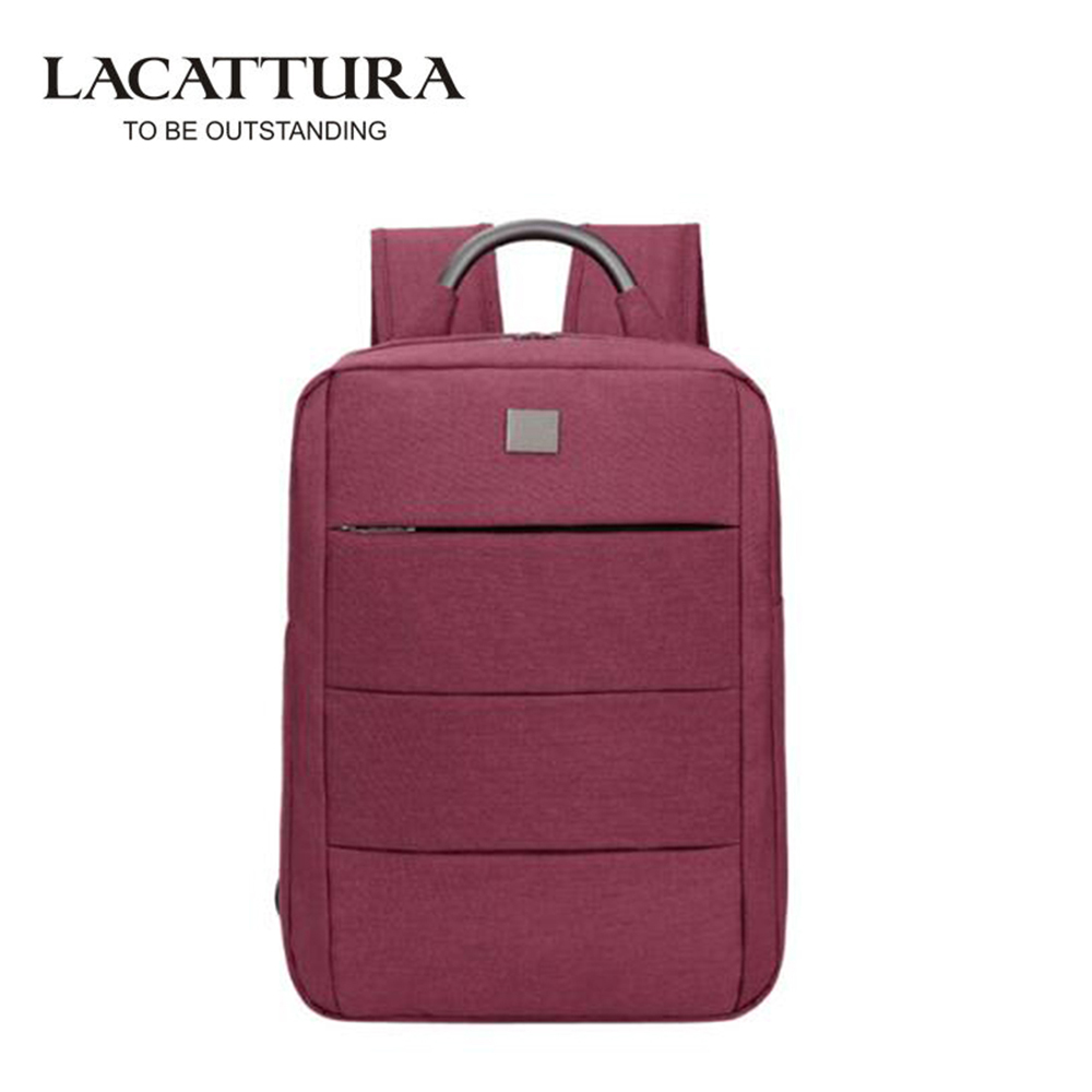 купить LACATTURA Women and Men Backpacks Bolsa Mochila for Laptop 14Inch Notebook Computer Bags Backpack School kanken backpack недорого