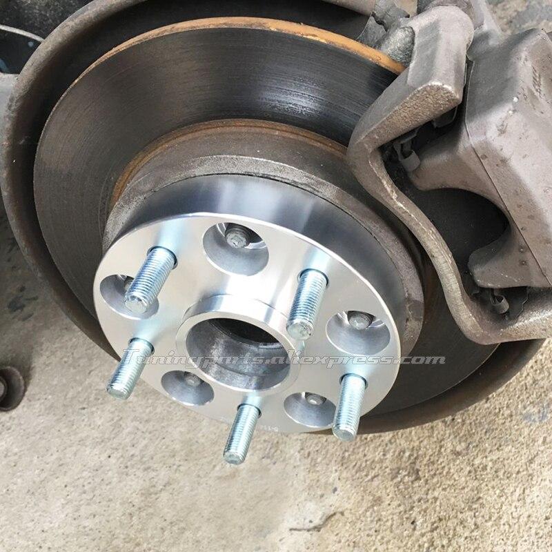 30mm PCD5x114.3 CB67.1 7075-T6 Forged AL Wheel Spacers For Maserati Ghibli 2