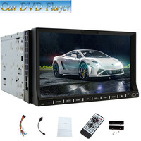 7-zoll-touchscreen 2-DIN Auto DVD/CD/USB/SD/AUX-IN/MP4/MP3 Player RDS Radio Bluetooth Audio + Fernbedienung Multimedia EQ Unter AUX