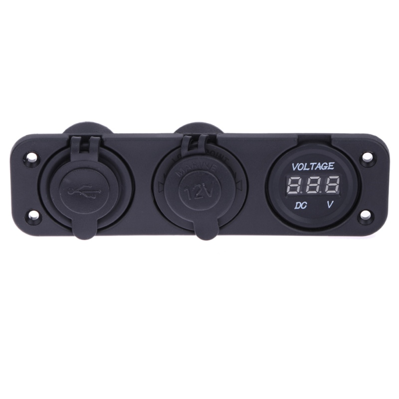 Car Universal Dual USB Charger Cigarette Lighter Output 5V/2.1A/1A Power Adapter Socket Splitter