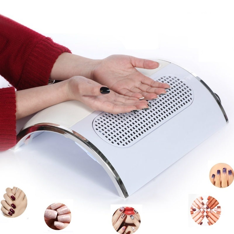 Nail Dust Suction Fan Collector Vacuum Cleaner Manicure
