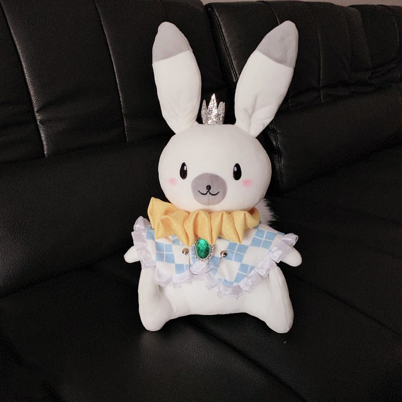 Vocaloid Hatsune Miku 2019 Snow Miku Plush Toy Doll Stuffed Rabbit Cartoon Cosplay Gift For Daughter or Girlfriend 40cm