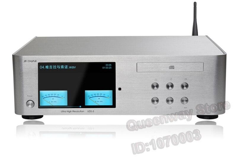 R-089 JF UDS-5 lecteur Audio numérique HIFI lecteur CD DSD ES9018 WIFI DLAN Airplay Androil/ISO/fenêtre système PC