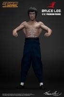 Hot-sprzedaży 1 sztuk 15 CM pcv figurka kolekcjonerska klocki brinquedos anime rysunek Bruce Lee