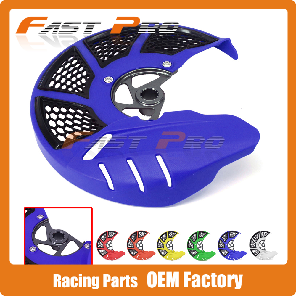 Front Brake Disc Rotor Guard Cover Protector Protection For Husqvarna TC FC TE FE 125 250 300 350 450 501 2014 for husqvarna te 250 300 fe250 501 s 2014 2016 fc 250 450 2014 2015 motocross off road cnc pivot dirt bike clutch brake levers