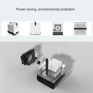 Image 3 - Usb мини портативный кондиционер увлажнитель воздуха очиститель отрицательных ионов вентилятор охлаждения воздуха кулер вентилятор с ночным освещением для офиса