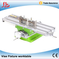 LY6330 Multifunction Milling Machine Bench Drill Vise Fixture Worktable X Y Axis Adjustment Coordinate Table