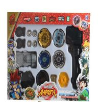 3 Style Spinning Tops Beyblade Metal Fusion 4D Launcher Grip Set Fight Master Rare Beyblade Classic
