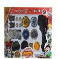 3 estilo beyblade metal fusion 4D lanzador Grip Set lucha maestro Rare beyblade juguetes clásicos para niños juguetes regalos
