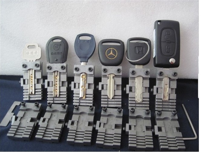 Universal Key Machine Fixture Clamp Parts Locksmith Tools For Key Copy Machine For Special Car Or House Keys
