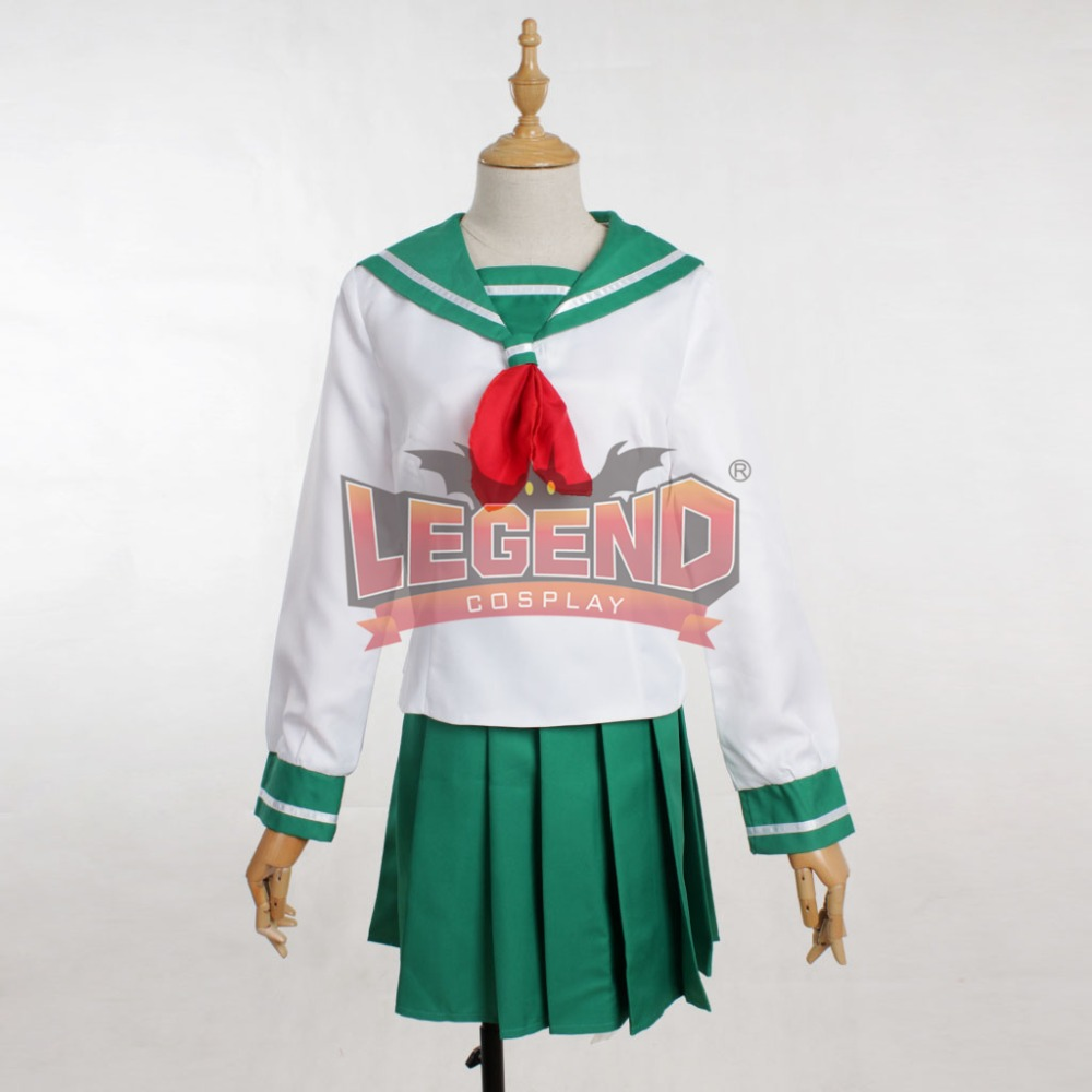 Cosplay legend Inuyasha Kagome Higurashi adult costume Custom Made full set