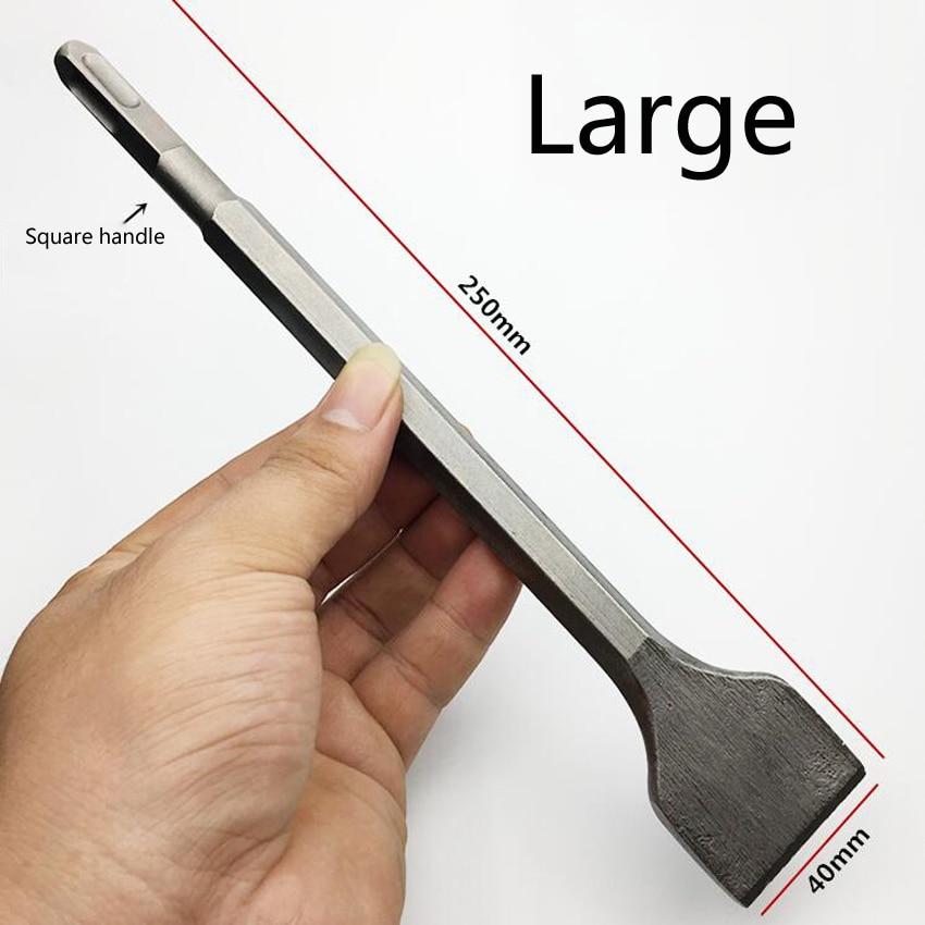 Mini trapano elettrico a scalpello a martello quadrato 150MM / 250MM - Punta da trapano - Fotografia 3