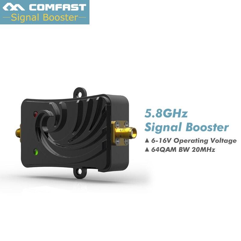 5 W 802.11a/un Wifi Sans Fil Amplificateur Routeur 5.8 Ghz 5000 mW WLAN Bluetooth Signal Booster Avec Antenne pour routeur ordinateur