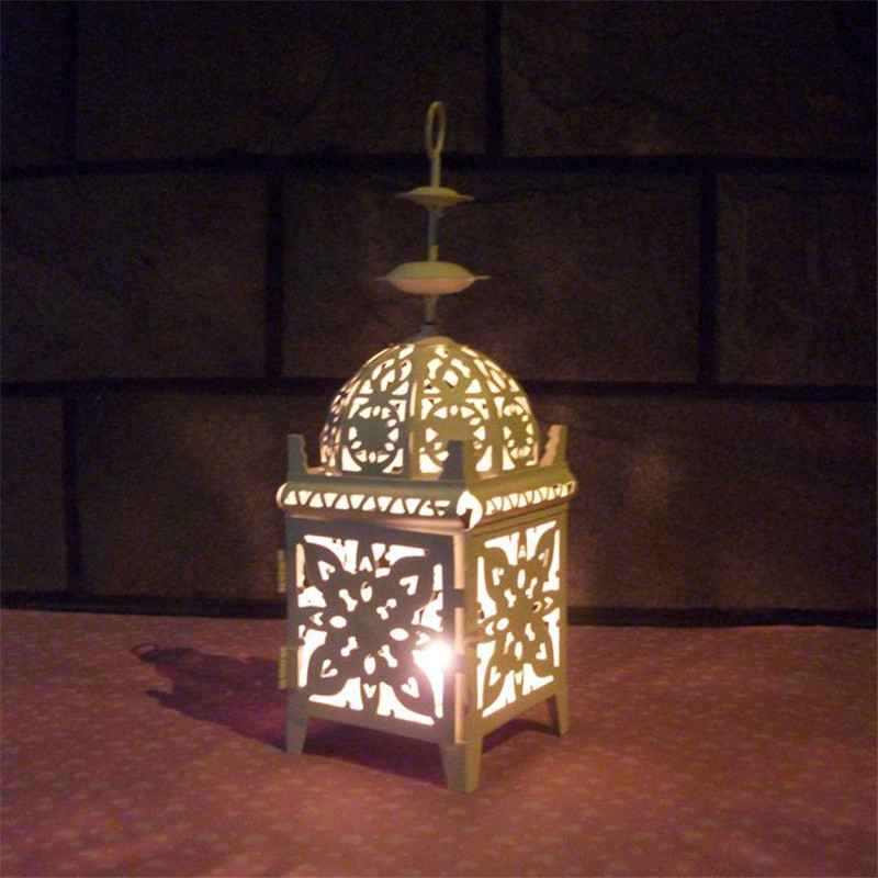 Outside Candle Holders: 12 Inch Large Candle Lantern Candlestick Craft Candle