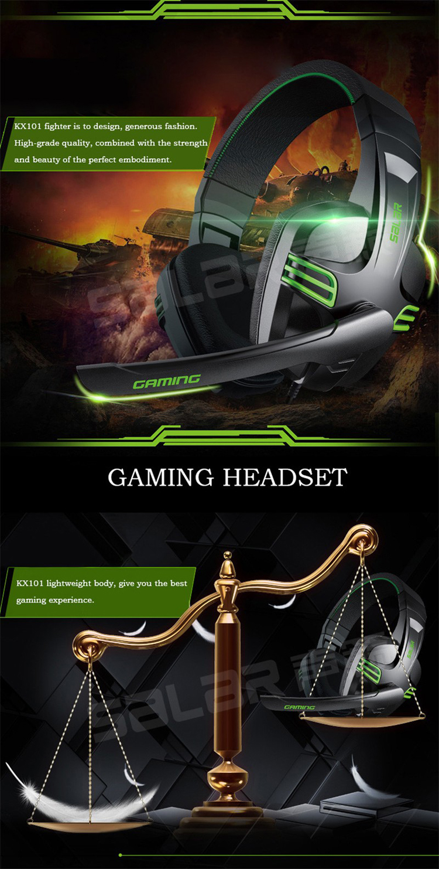 Headphone Gamer SALAR Fone Gamer