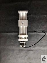 В собранном виде авто Z оси слайд приводной комплект 120 мм дорожная защита от люфта фрезерный станок с ЧПУ, 3D принтер, плазменной резки с NEMA17 шаговый двигатель