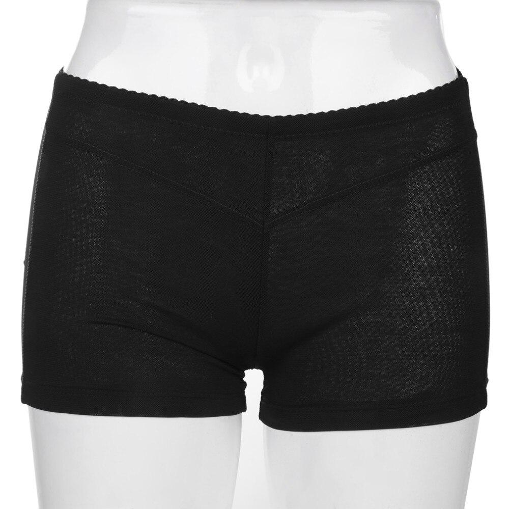 0f188d2cd 2019 Women Invisible Mesh Butt Lifter Short Buttock Enhancer Bum ...