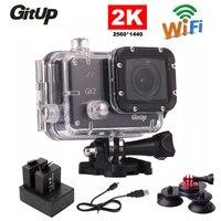 Original Gitup Git2 16M 2K Wifi Sports Action Camera Full HD 1080P Waterproof DVR Extra Battery