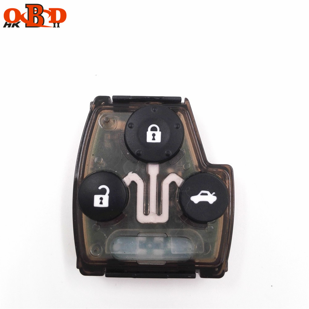 HKOBDII A quality 1pcs Circuit Key Board For Honda Old Accord Fit Odyssey Remote Key 315MHz without chip in Car Key from Automobiles Motorcycles
