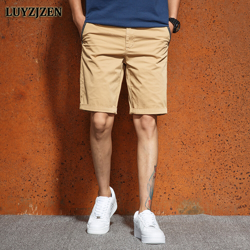 2018 New Brands Casual Shorts Men Workout Shorts Homme Cargo Short Style Mens Military Summer Trousers High Quality LUYZJZEN