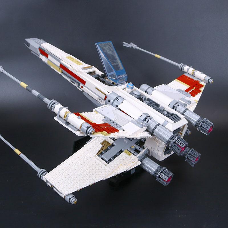05039 ستار الأحمر خمسة X الجناح نجوم الحرب مقاتلة نموذج متوافق مع 10240 بناء مجموعة كتل الطوب ل ألعاب أطفال-في حواجز من الألعاب والهوايات على  مجموعة 3