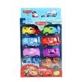 Anime Cartoon Pixar Cars figuras Set completo 8 unidades Mini modelo juguetes clásicos juguetes para el envío gratis regalo