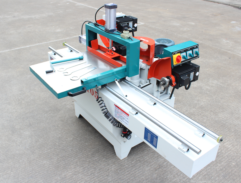 MJ105 Precision 2 Tracks, Single End Tenoning Machine, Mortising Machine