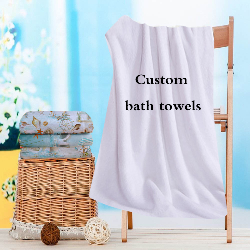 customized gift Beach towel not fade Microfiber Travel outdoors Sports Swimming Camping Bath Yoga Mat Blanket custom made