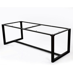 Da tavolo staffa del telaio tavolo da pranzo del piede da tavolo in ferro in ferro battuto personalizzato cornice da tavolo scrivania piede