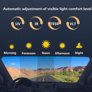 Image 4 - Pellicola per vetri solare SUNICE speter pellicola per il controllo del sole isolamento termico pellicola fotocromatica VLT modificata 73% ~ 43% costruzione di auto uso estivo