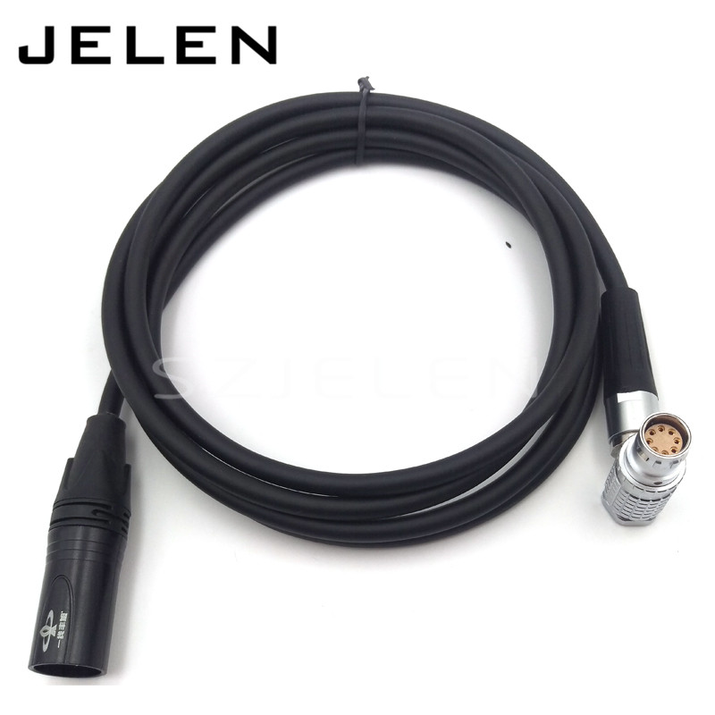 FHJ 2B 8pin female to 3 pin XLR Connector plug for Camera ARRI ALEXA MINI power cable d tap to fhj 2b 308 clld 8 pin plug connector for alexa camera mini power cable