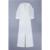 El Envío Gratuito! superior de La Manera Profunda Vneck Mangas Casquillo blanco capa decoración Bodycon Mono Mujeres Mamelucos señora de corte de arranque mono