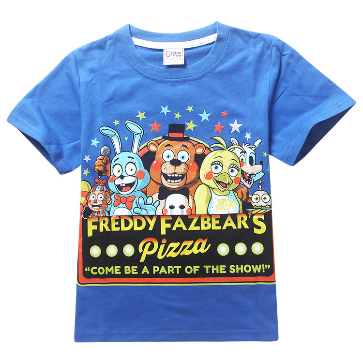 New boys clothes cartoon children t shirts five nights at freddy s clothing camiseta kids clothes