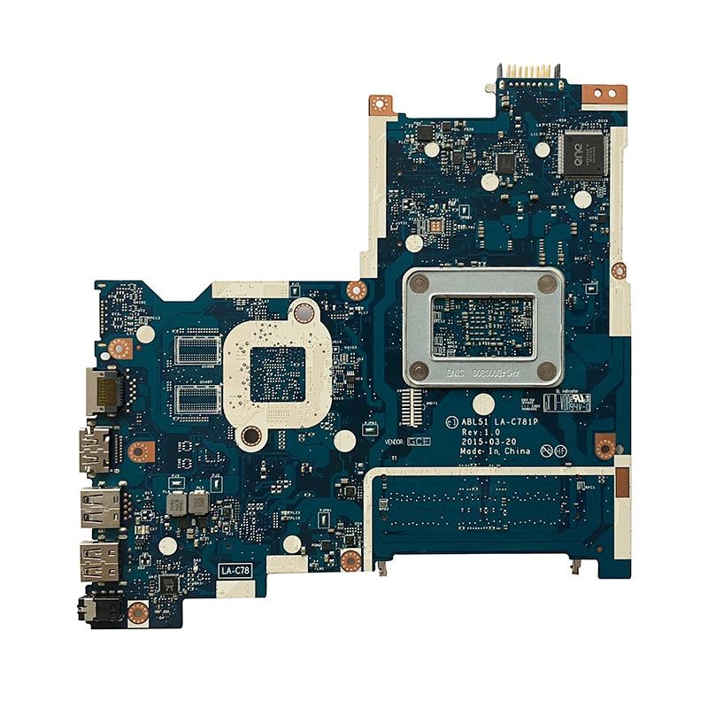 Original For HP 15-AF 15-AF131DX 15-AF156NR laptop motherboard A6-5200 CPU DDR3 827705-501 827705-601 827705-001 ABL51 LA-C781P 1