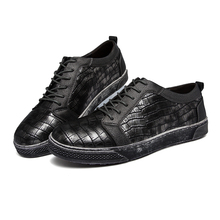 2016 Fashion men's casual shoes lace up style shoes good quality leather shoes male's leisure shoes