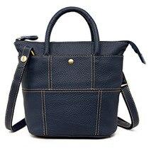 2015 mode frauen Rindsleder Authentische Echtem Leder Braun Weiche Beiläufige Kleine Schulter Messenger Bags Satchel Kostenloser Versand