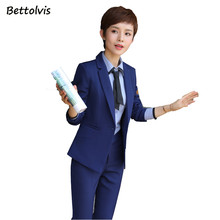 2018 Autumn Winter female elegant pant suits women set women's long sleeve blazer with Trousers office XXXXL suit blue black