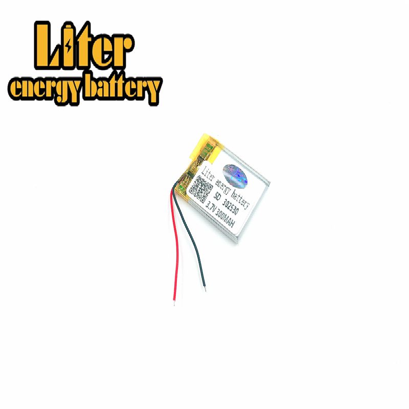 Size <font><b>302530</b></font> 282530 3.7v 300mah Lithium Polymer Battery With Board For Mp4 Digital Products image