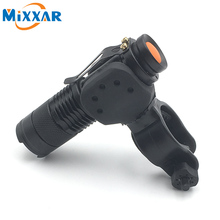 Lumens modes zoomable cree torch flashlight lights bicycle front bike cycling