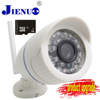 720P HD Wireless CCTV IP Camera Mini Bullet WIFI Camera Outdoor Waterproof Surveillance Security Video System