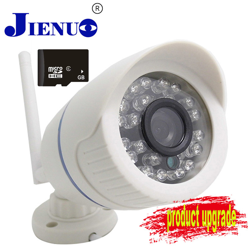 IP Camera With Wifi Support SD Card Wireless CCTV IP CameraS Bullet WIFI Camera Outdoor Waterproof Surveillance Security Video wistino cctv camera metal housing outdoor use waterproof bullet casing for ip camera hot sale white color cover case