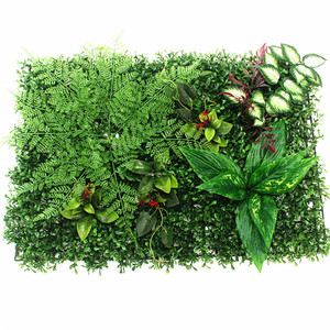 Image 4 - Self Made Fake Grass Carpet Persian/ Begonia Leaves Diy Simulation Grass Window/Hotel/Store Backdrop/Artificial Grass Wall Decor