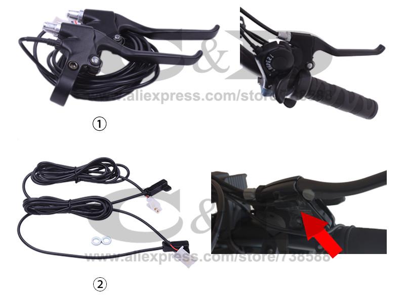 Perfect Free Shipping 1500W E-bike Electric Bike Conversion kit Driect Drive Motor MXUS 48V 52V 13AH 17AH Hailong Battery LCD 36