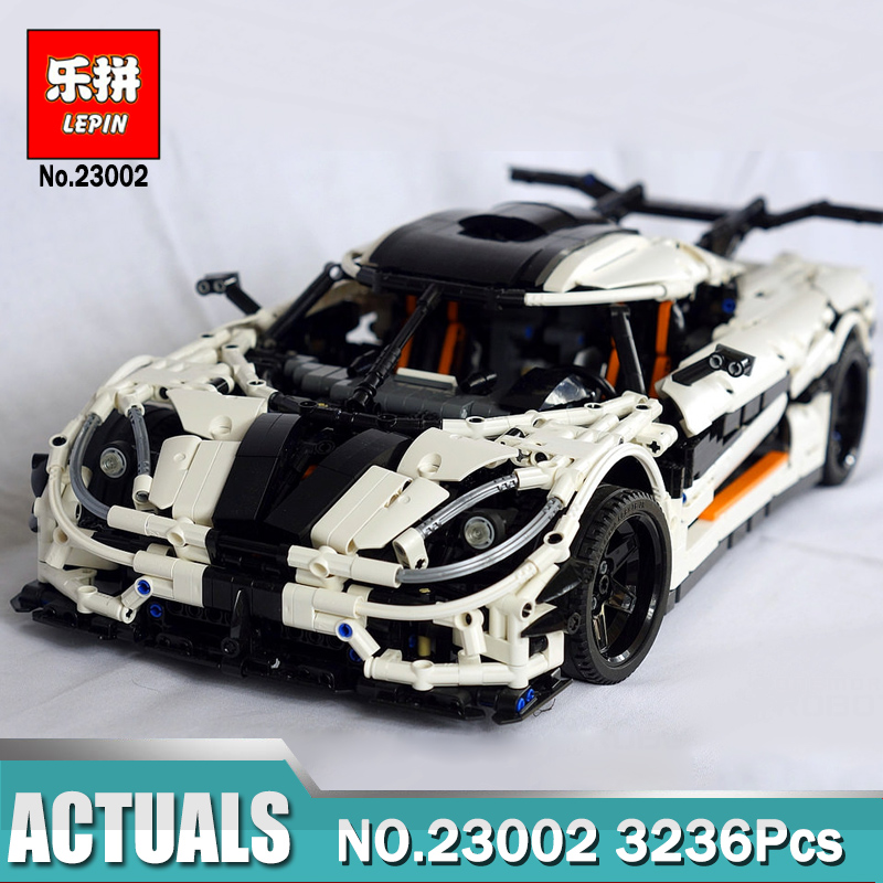 Lepin 23002 3236Pcs Technic The MOC-4789 Changing Racing Car Set Children Legoinglys Educational Building Blocks Bricks Toys цена