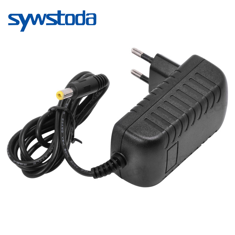 New AC100V-240V / DC12V 2A Output Power Adaptor 50/60HZ, Wall Charger DC 5.5mm X 2.1mm EU/AU/UK/US Plug For CCTV Camera Free