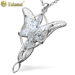 Image 4 - Princesa arwen evenstar pingente colares para mulher arwen cristal colar hobbit s925 sliver casamento jóias presente