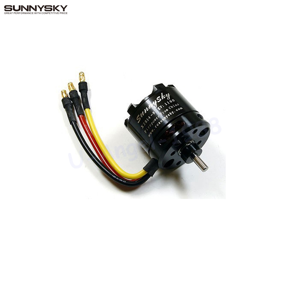 1pcs SunnySky X2814 900KV 1000KV 1100KV 1250KV 1450KV Outrunner External Rotor Brushless Motor for RC Aircraft