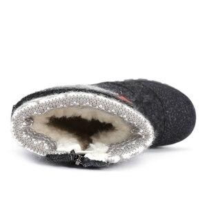 Image 4 - (Отправить от России) MMnun валенки детские валенки зимние ботинки для мальчика 2019 зимние сапоги для мальчика зимняя обувь для мальчиков ботинки для мальчика детская обувь детская зимняя обувь 23 28 ML9424