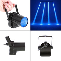 3W Blue LED Beam Spotlight Dance Party DJ Bar Spin Stage Light LED Lighting High Quality